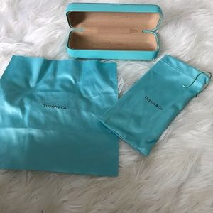 Tiffany & Co.  glasses case with accessories
